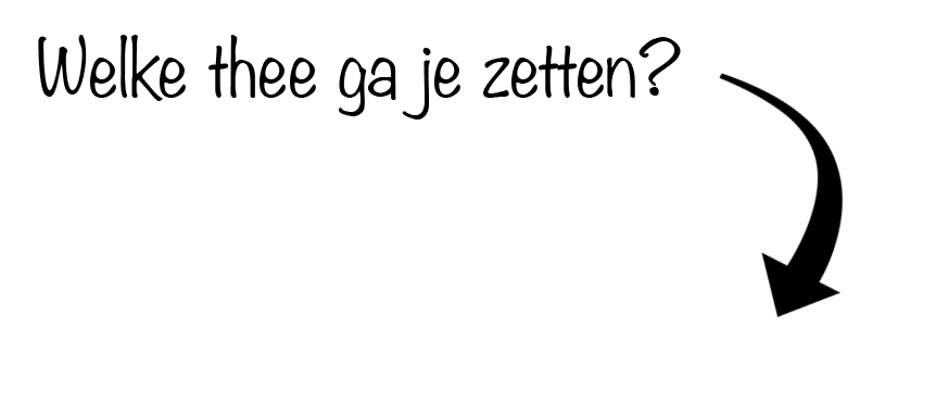 , Theezetten