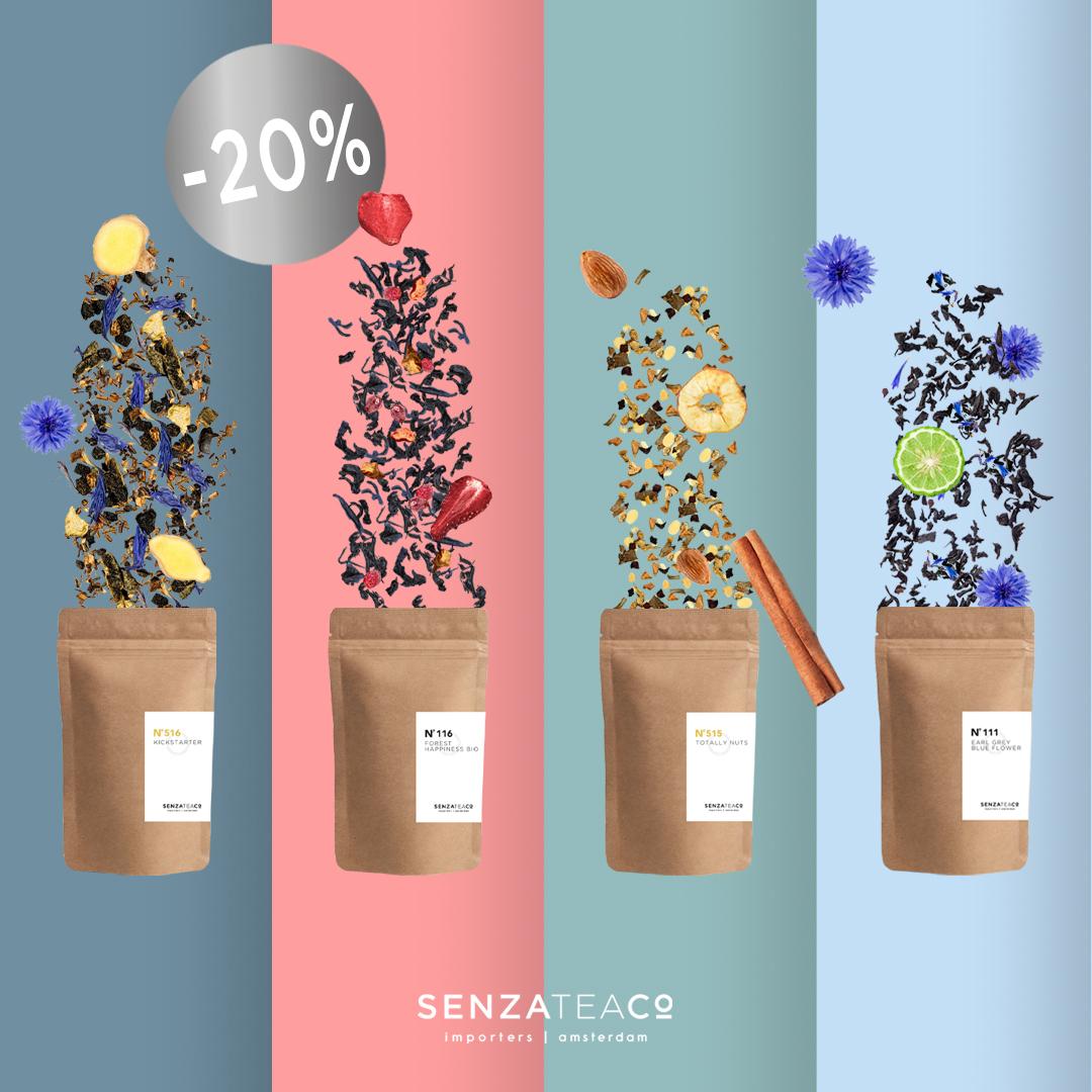 Senza Tea, Losse thee en slimme oplossingen voor horeca, werkplek en thuis