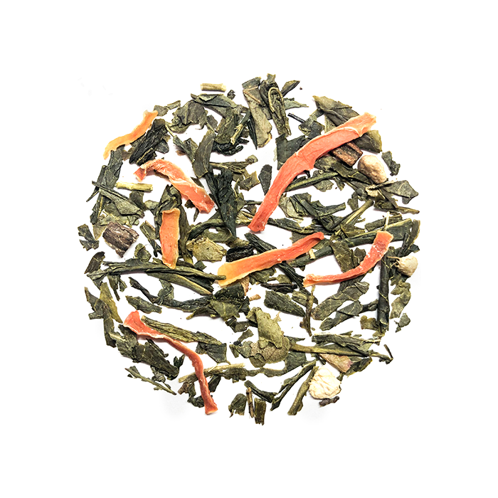 Senza Tea Co. groene thee met frisse citrusvruchten